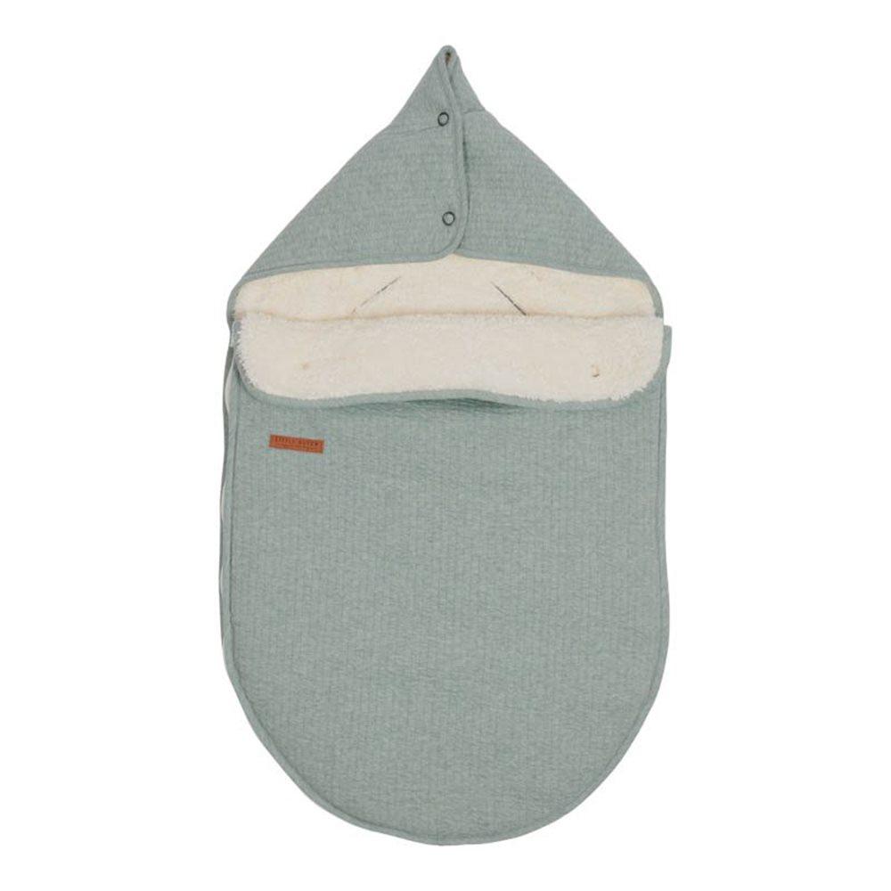 Babyschalen-Fußsack 0+ - Pure Mint