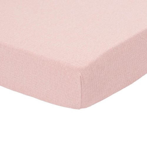 Picture of Fitted cot sheet Pure Pink