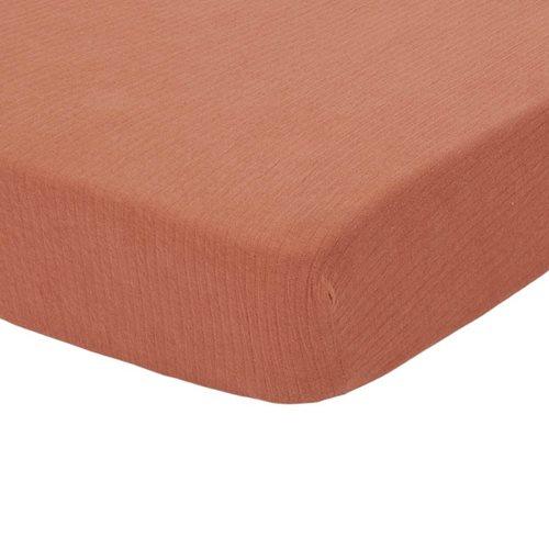 Afbeelding van Hoeslaken wieg Pure Rust