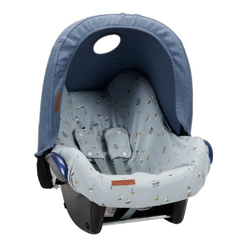 Picture of Car seat 0+ sun canopy Pure Blue
