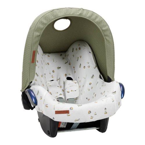 Afbeelding van Zonnekap autostoeltje 0+ Pure Olive