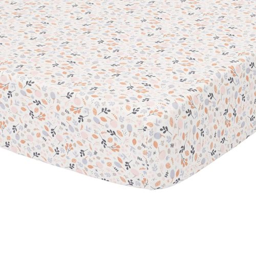 Picture of Fitted cot sheet Spring Flowers